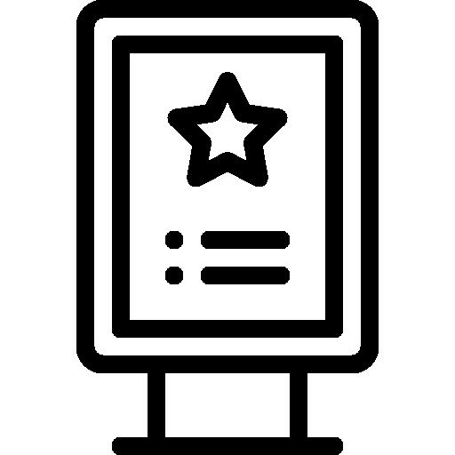 Afișaj / Delimitare / Expunere / Informare