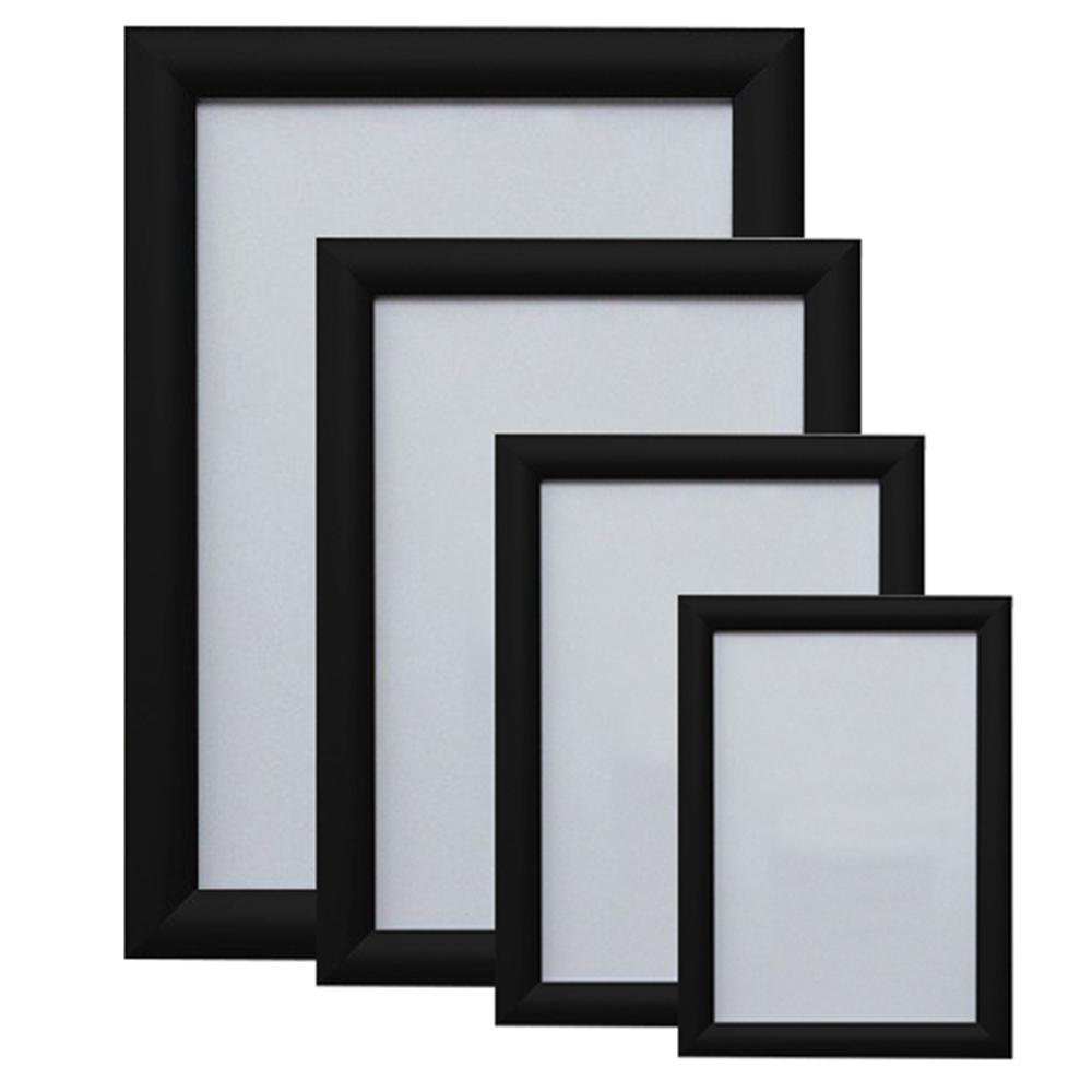 Ramă poster click 25mm neagră (A1)